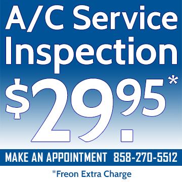 A/C Service Deal